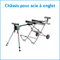 Châssis pour scie à onglet Metabo